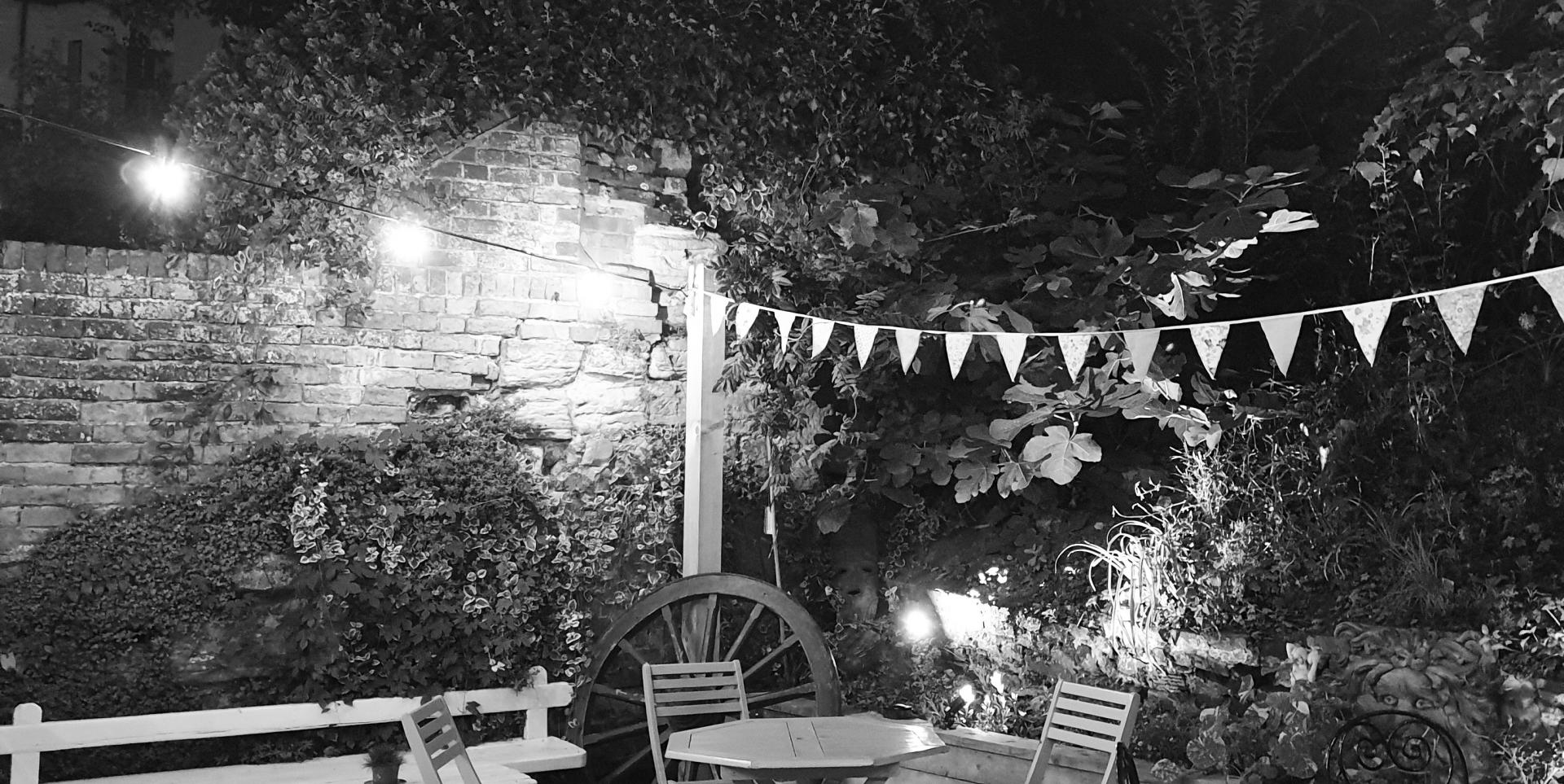 Stag Inn Hastings garden
